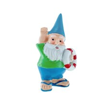 Miniature Spring Gnome with Lifesaver By Celebrate It