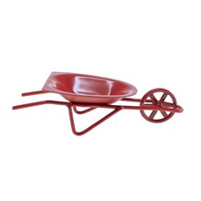 Miniature Spring Red Wheelbarrow By Celebrate It