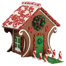 Chocolate Cookie Gingerbread House, medium