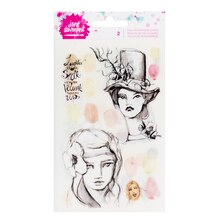 Jane Davenport Rub-On Transfer Sheets, Neutrals Front Package