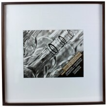 Lexington Collection Walnut Frame with Mat by Studio Decor