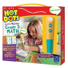 Hot Dots Jr. Let's Master Grade 3 Math