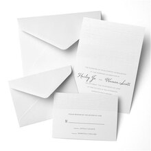 Gartner Studios Woodgrain Embossed Invitation, 50ct