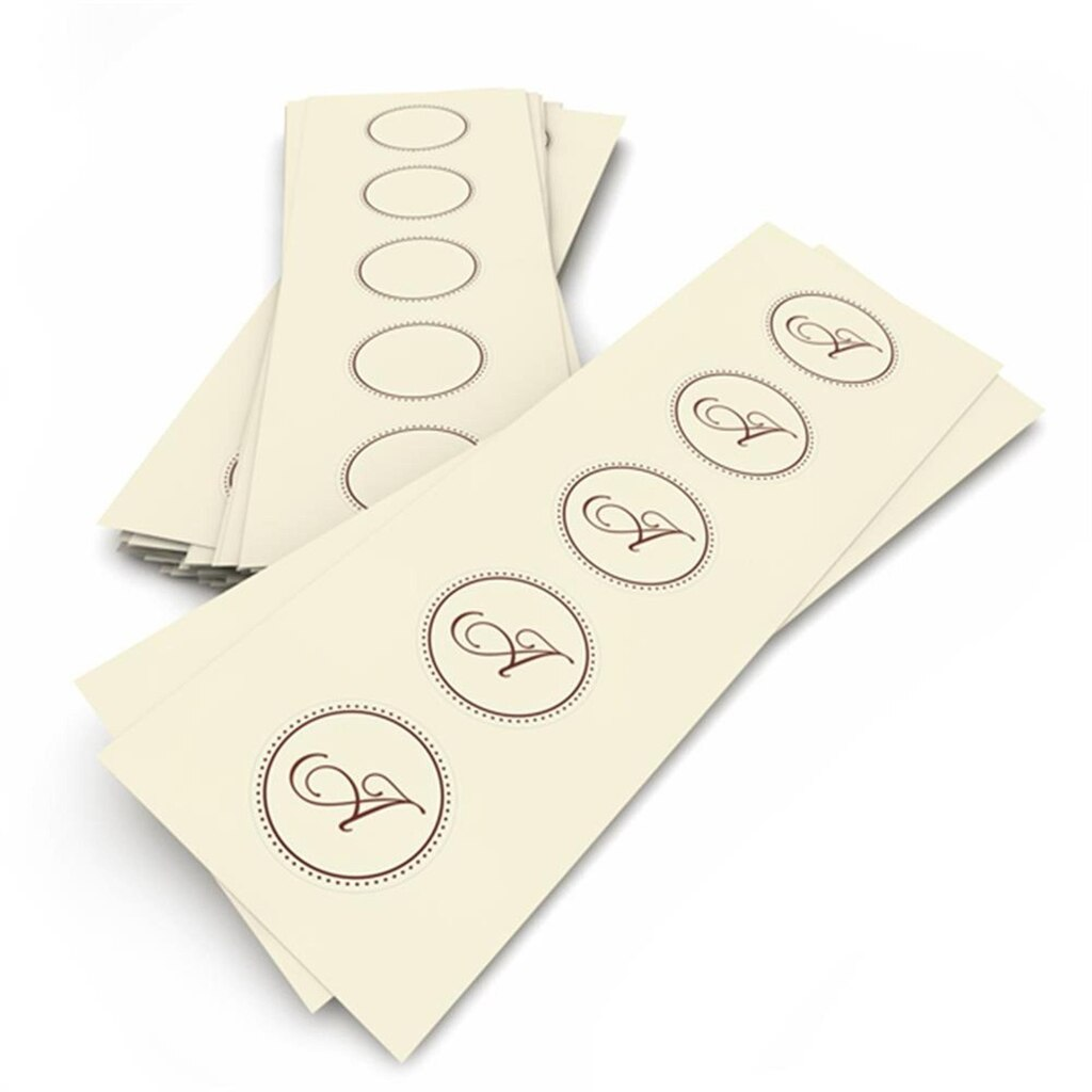 gartner labels templates gartner studios printable round chocolate ivory labels
