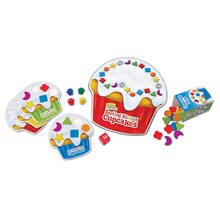 Smart Snacks Sorting Shapes Cupcakes Game