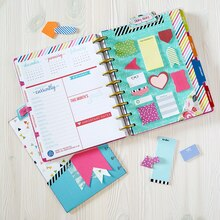Dashboard and Pocket Folder Planner Insert, medium