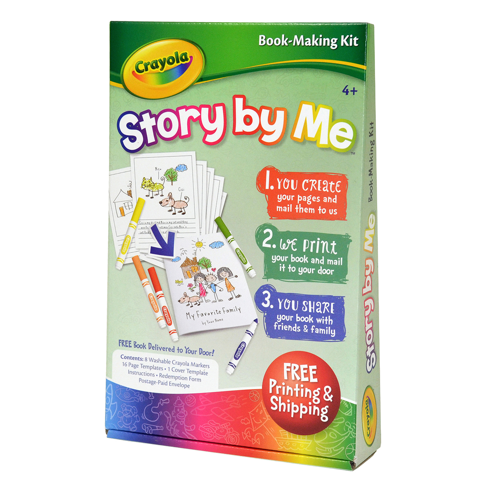 How To Make A Book Kit : Shop for the crayola story by me™ book making kit at michaels
