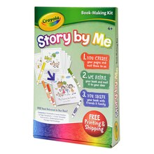 Crayola Story By Me Book Making Kit