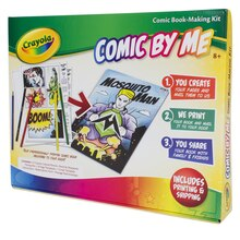 Crayola Comic By Me Comic Book Making Kit