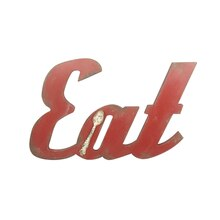 Global Chic Eat Wall Sign by Ashland