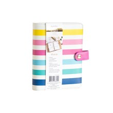 Creative Year Personal Multicolor Striped Binder By Recollections