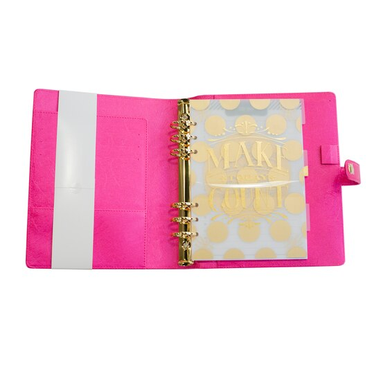 Buy The Creative Year Pink Flamingo A5 Binder By