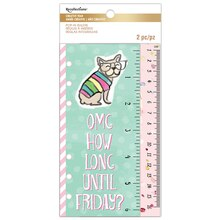 Creative Year Sassy Saying Pop-In Rulers By Recollections