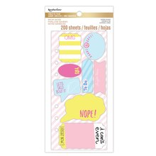 Creative Year Sassy Saying Die-Cut Sticky Notes By Recollections Packaged