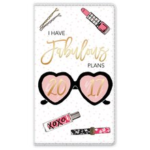 2017 Fabulous Plans Zippered Planner By Recollections