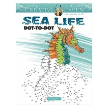 Creative Haven Sea Life Dot-to-Dot