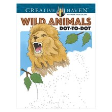 Creative Haven Wild Animals Dot-to-Dot