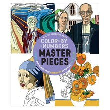 Color-By-Number Masterpieces