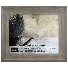 Coastal Country Weathered Gray Frame By Studio Decor