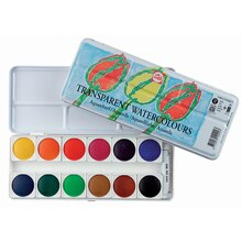 Royal Talens TRANSPARENT WATERCOLOURS 12-Color Set