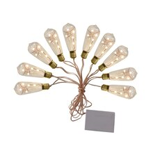 Apothecary and Company Decorative String Lights, Traditional Bulbs