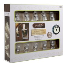 Apothecary & Company Decorative String Lights, Warm White In Box