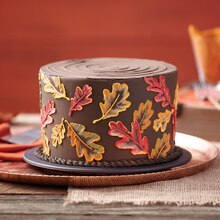Falling Leaves Cake, medium