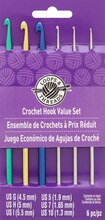 Steel & Aluminum Crochet Hook Value Set by Loops & Threads