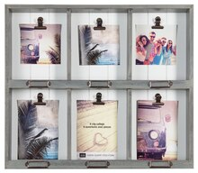 Coastal Country 6-Clip Collage Frame Case By Studio Decor