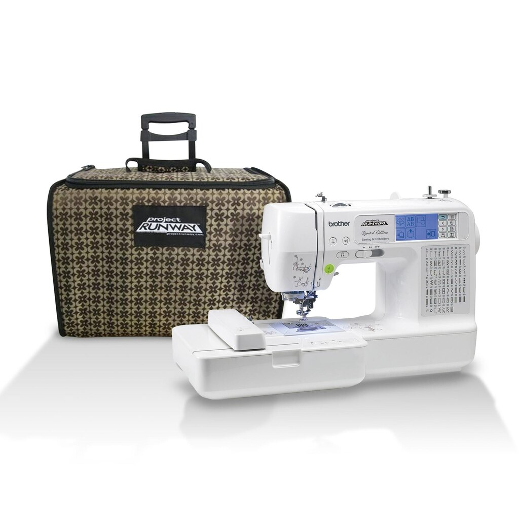 Project Runway™ Sewing & Embroidery Machine with Tote