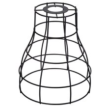 Black Wire Flare Lampshade By Ashland