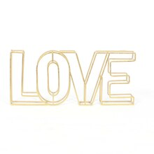 Open Metal Love Tabletop Sign By Ashland