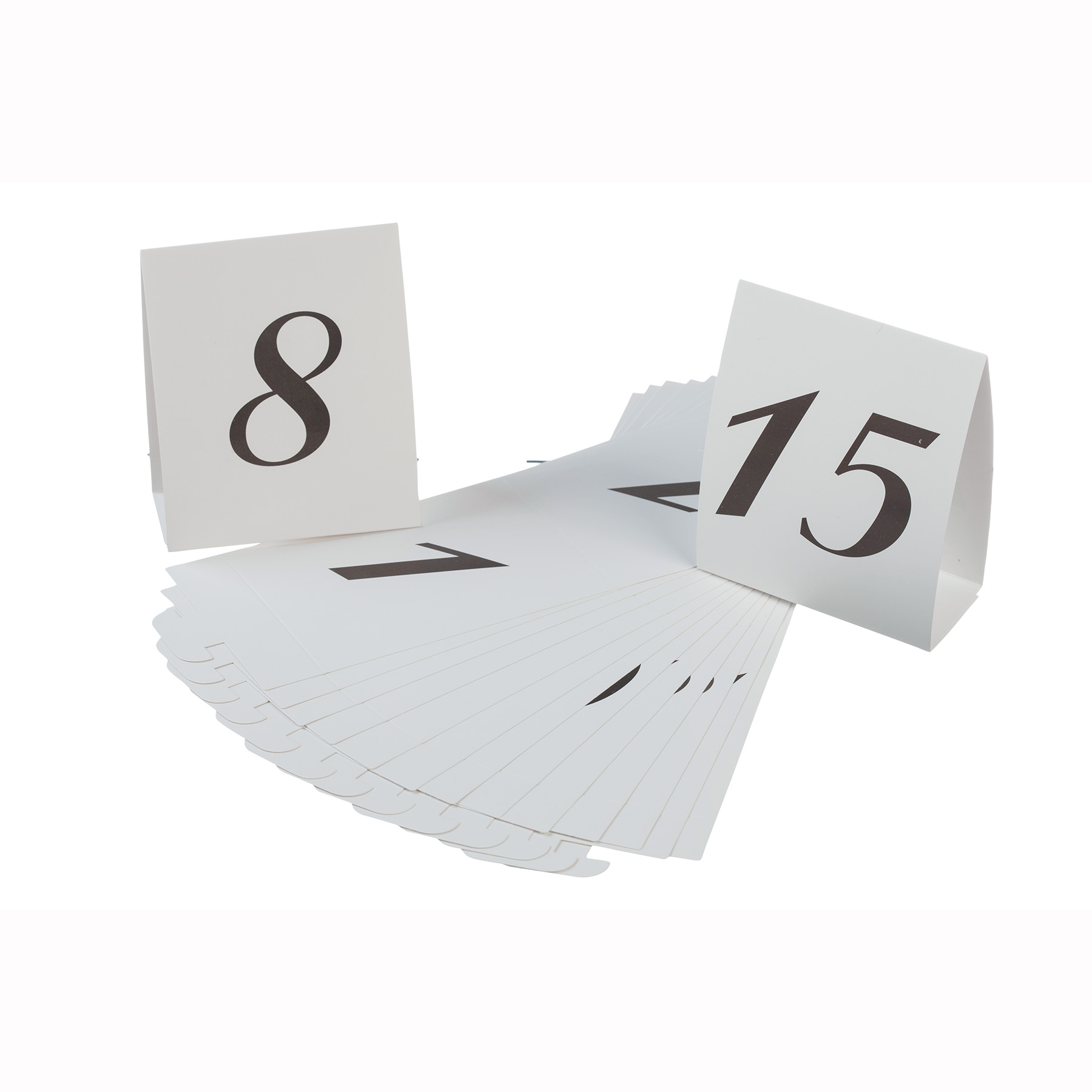 sc 1 st  Michaels Stores & Victoria Lynn™ Table Number Cardboard Tents Numbers 1-15