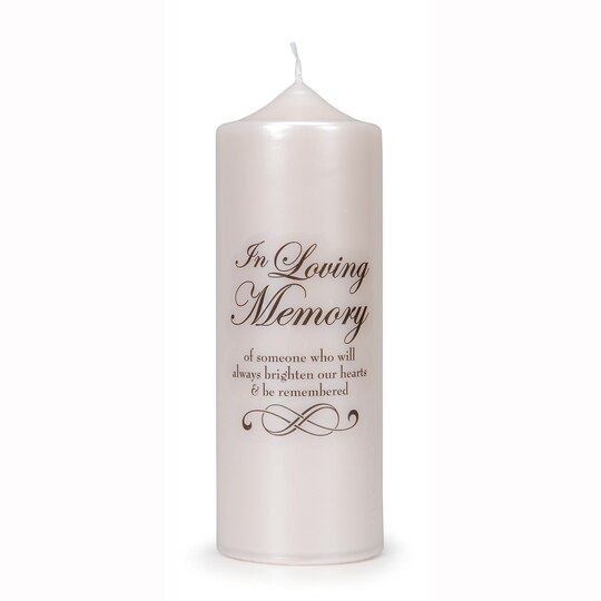 Victoria Lynn Quot In Loving Memory Quot Candle Decal