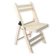 Craft It Wooden Foldable Chair By ArtMinds