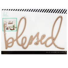 Heidi Swapp Wall Art Word, Blessed