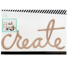 Heidi Swapp Wall Art Word, Create