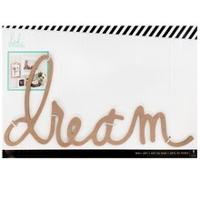 Heidi Swapp Wall Art Word, Dream