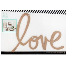 Heidi Swapp Wall Art Word, Love