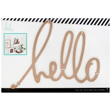 Heidi Swapp Wall Art Word, Hello