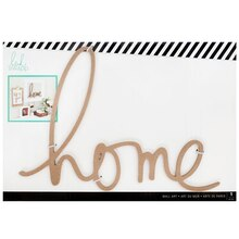 Heidi Swapp Wall Art Word, Home