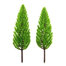 Green Tall & Thin Miniature Spring Trees By Celebrate It