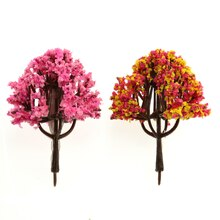Multicolored Miniature Easter Trees By Celebrate It