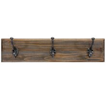 Wall Decor Plank with 3 Hooks By Ashland