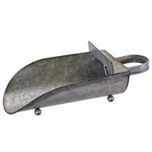 Tabletop Galvanized Metal Scoop By Ashland