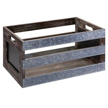 Small Tabletop Slat Crate By Ashland