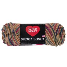 Red Heart Super Saver Yarn, Painted Desert