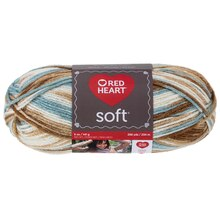 Red Heart Soft Yarn, Icy Pond