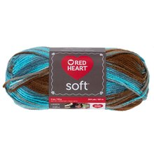 Red Heart Soft Yarn, Waterscape