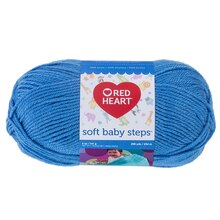 Red Heart Soft Baby Steps Yarn, Deep Sky